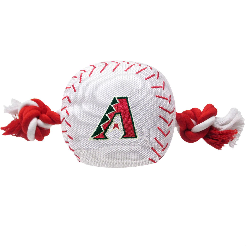 Arizona Diamondbacks Nylon Plush Baseball Rope Dog Toy