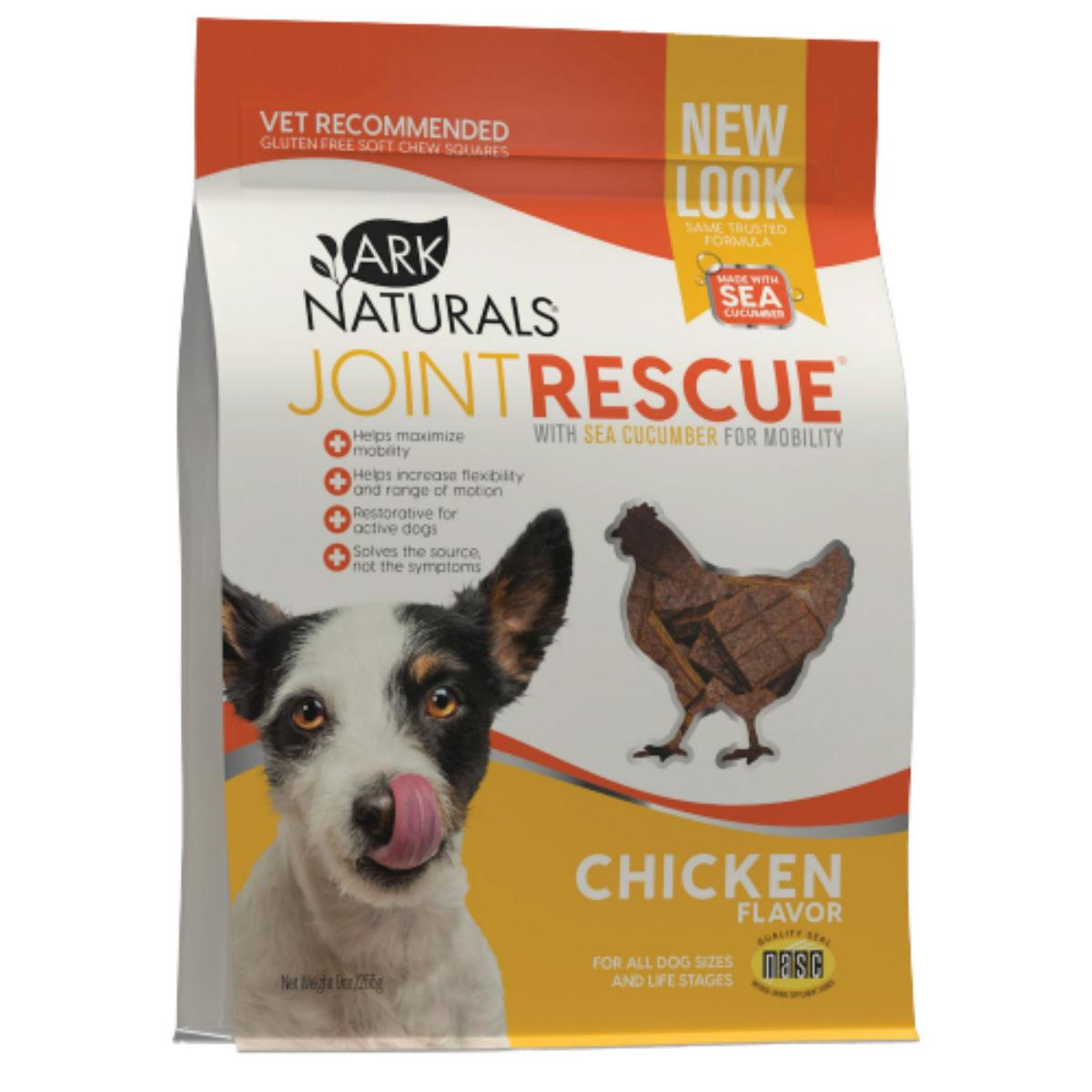 Ark Naturals Joint Rescue Soft Chew Dog Treat - Chicken