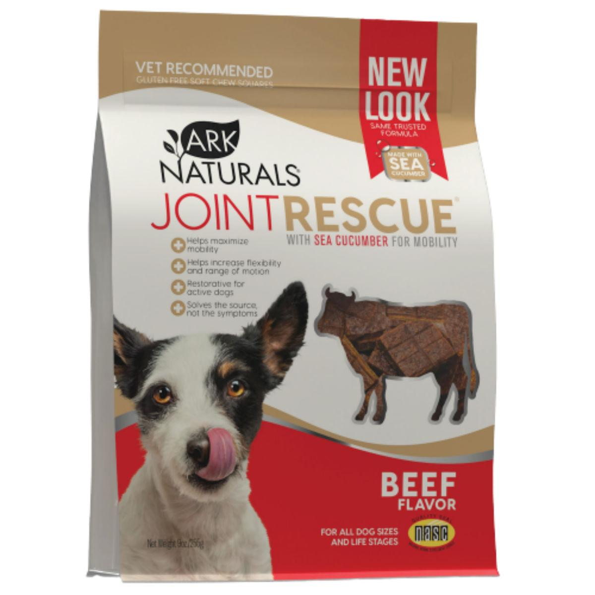 Ark Naturals Joint Rescue Soft Chew Dog Treat - Beef