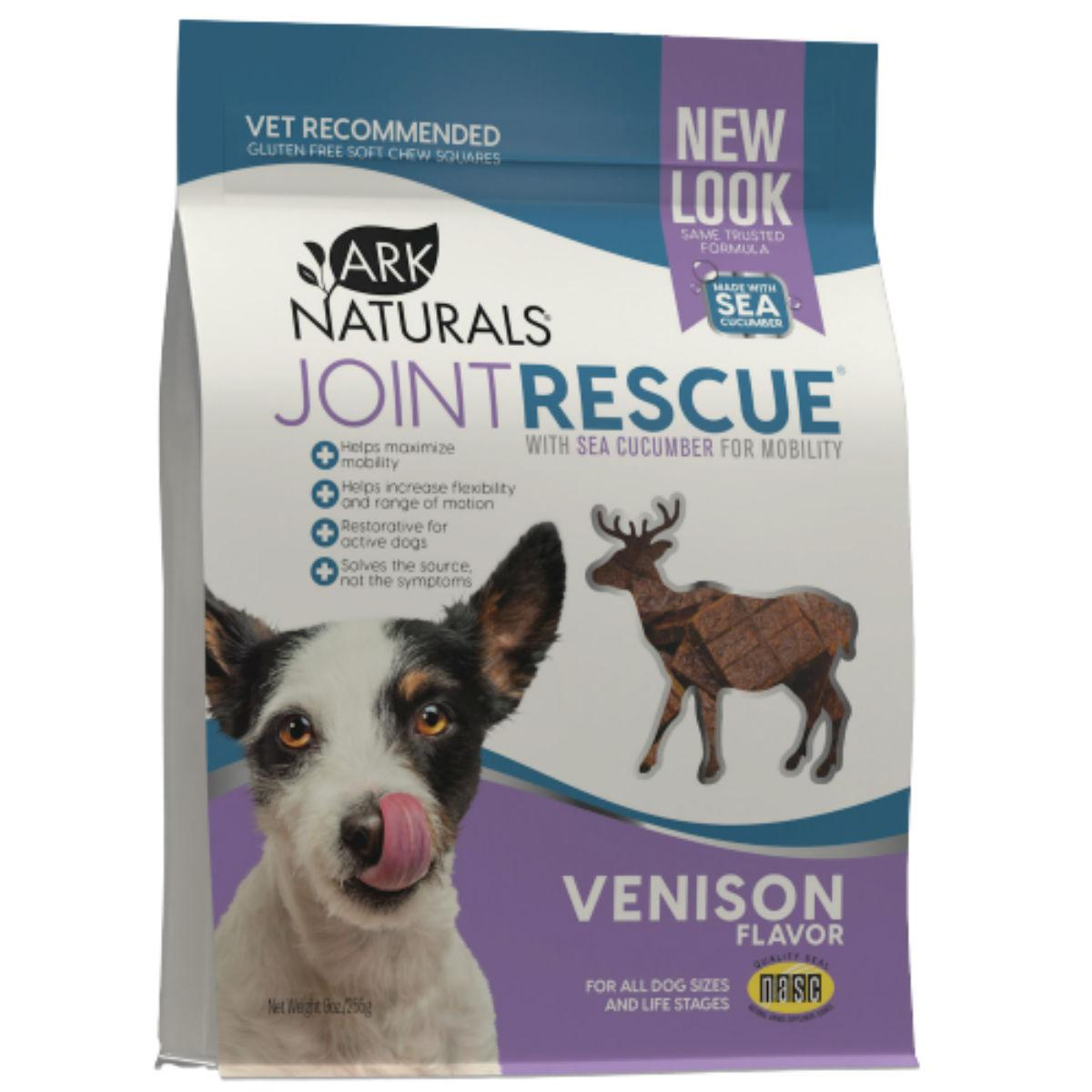Ark Naturals Joint Rescue Soft Chew Dog Treat - Venison