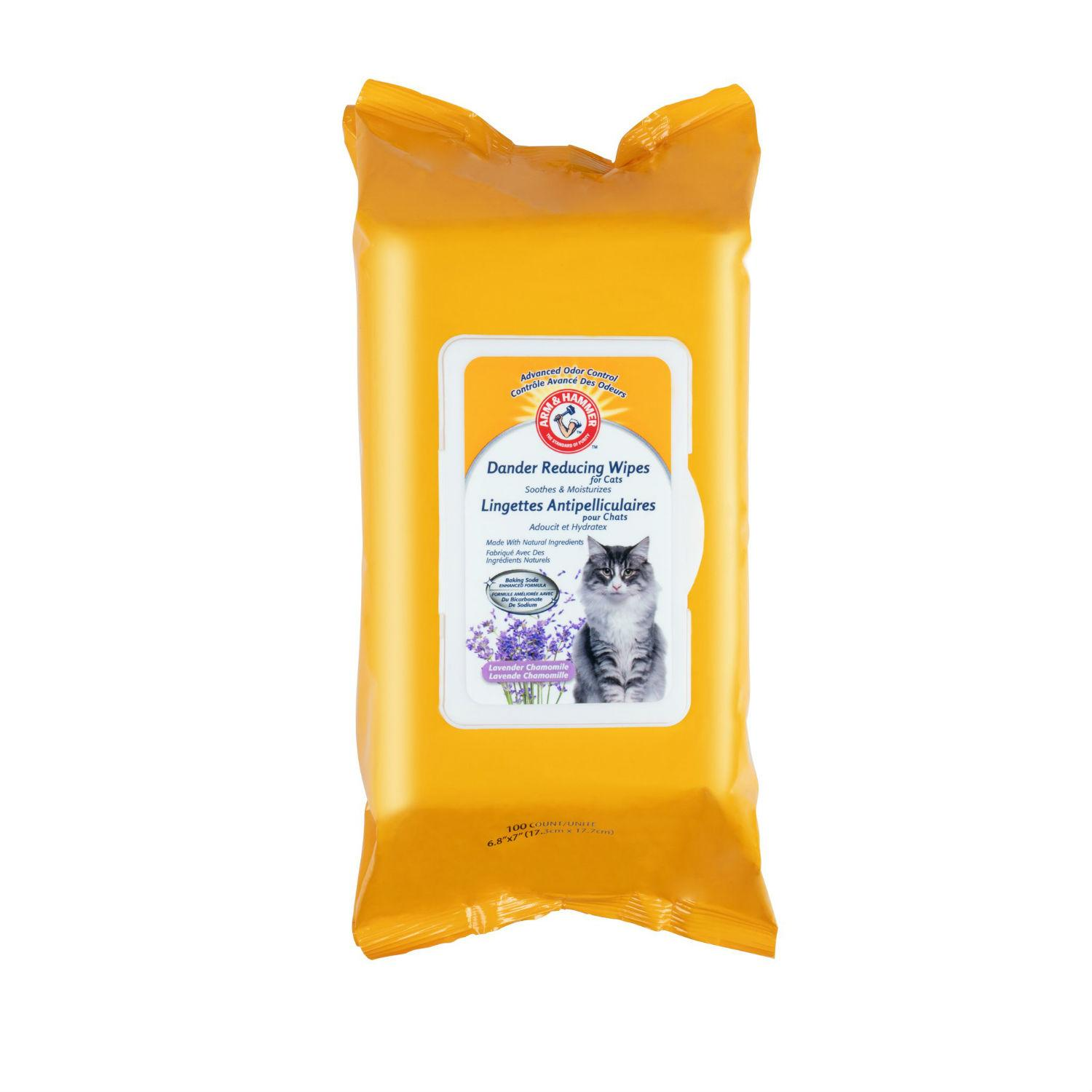 Arm & Hammer Dander Reducing Wipes for Cats
