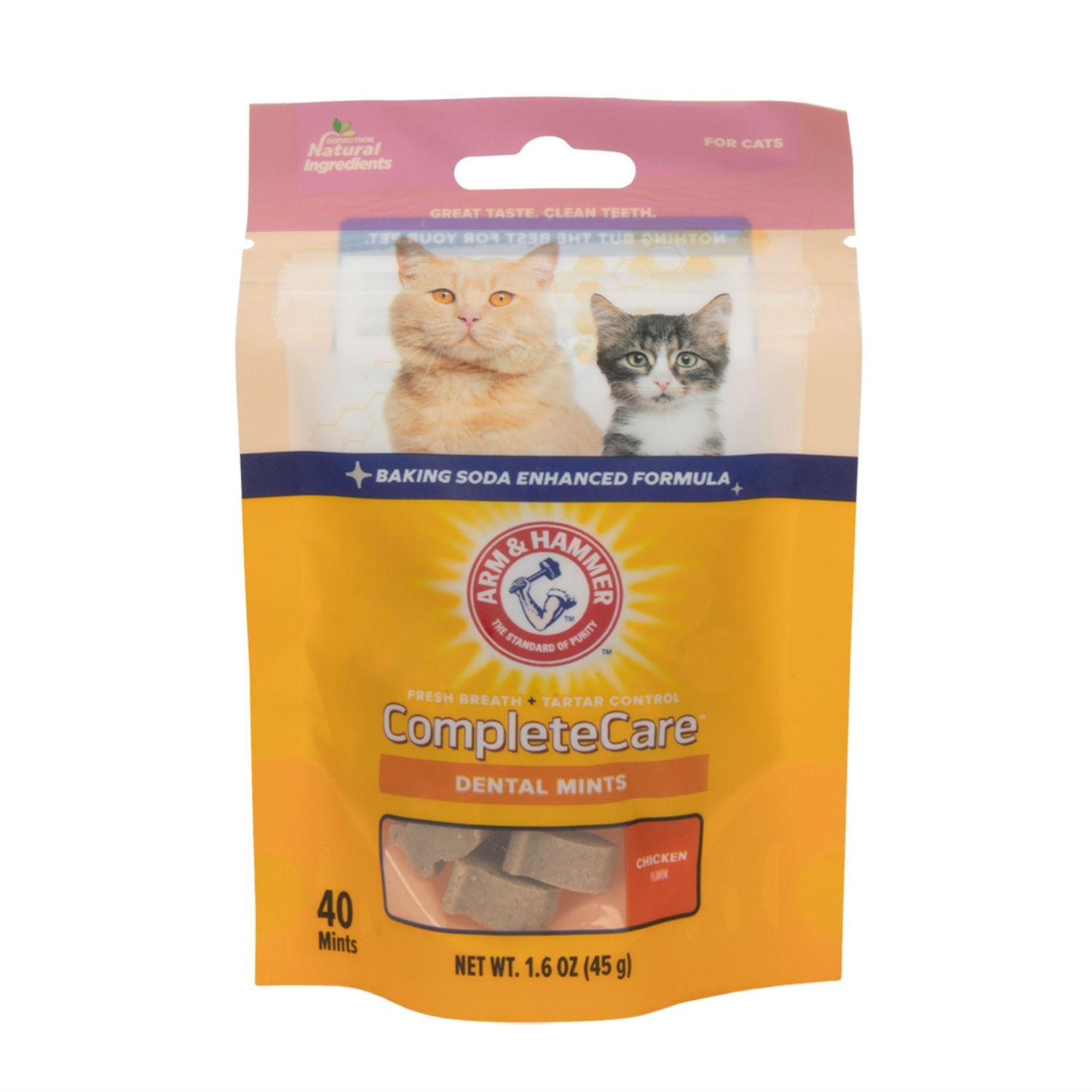 Arm & Hammer Dental Complete Care Mints Cat Treat - Chicken