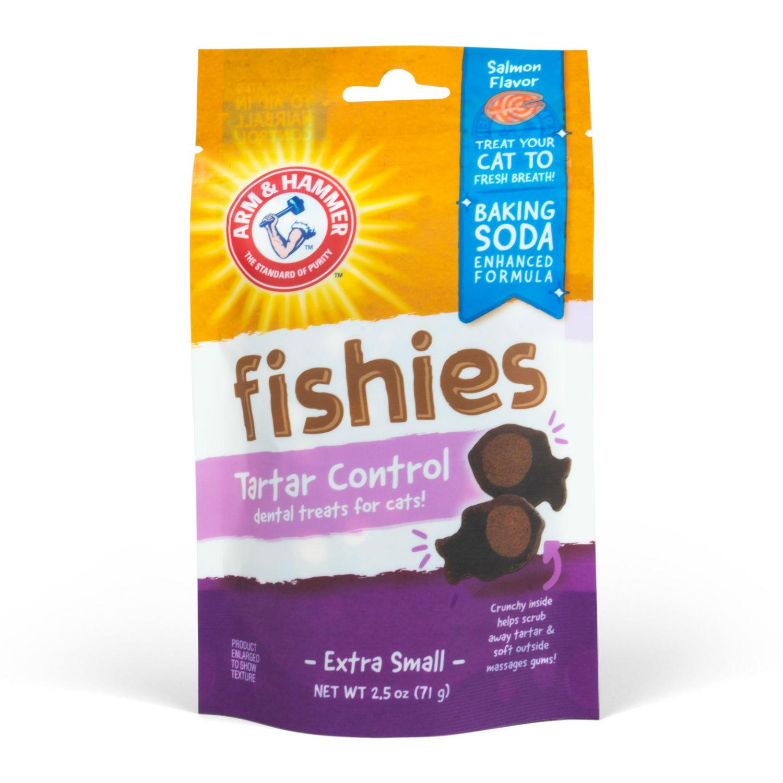 Arm & Hammer Fishies Tartar Control Dental Cat Treat - Salmon
