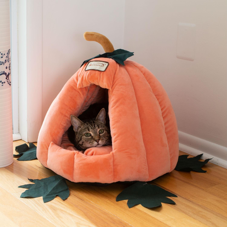 Armarkat Pumpkin Pet Bed