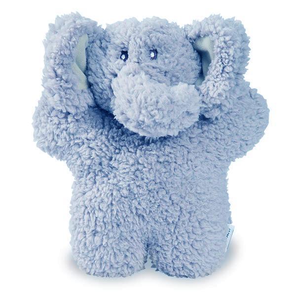 Aromadog Fleece Elephant Dog Toy - Blue