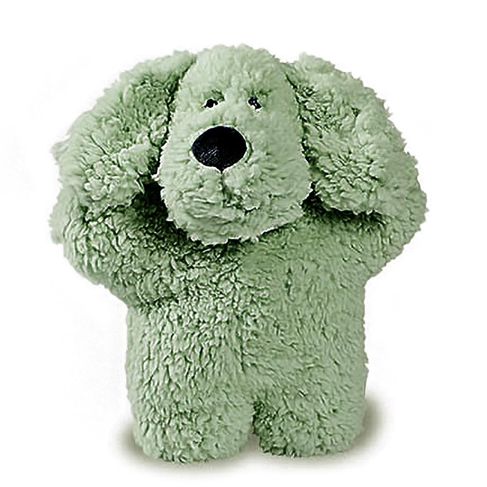 Aromadog Fleece Dog Toy - Green Dog