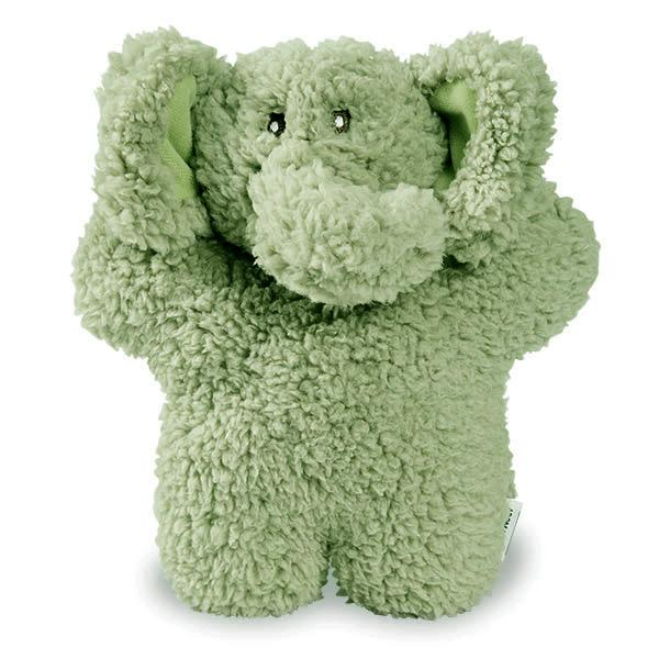 Aromadog Fleece Elephant Dog Toy - Green
