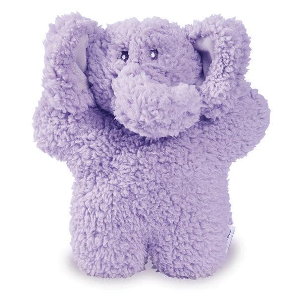 Aromadog Fleece Elephant Dog Toy - Purple