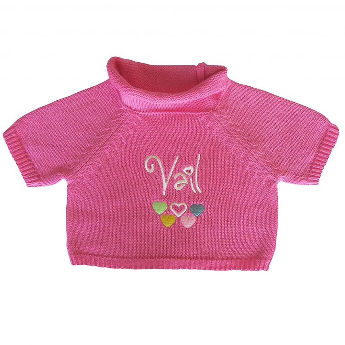 Vail Dog Sweater by Beverly Hills Dog - Pink