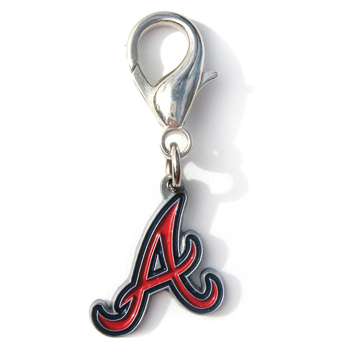 Atlanta Braves Logo Dog Collar Charm
