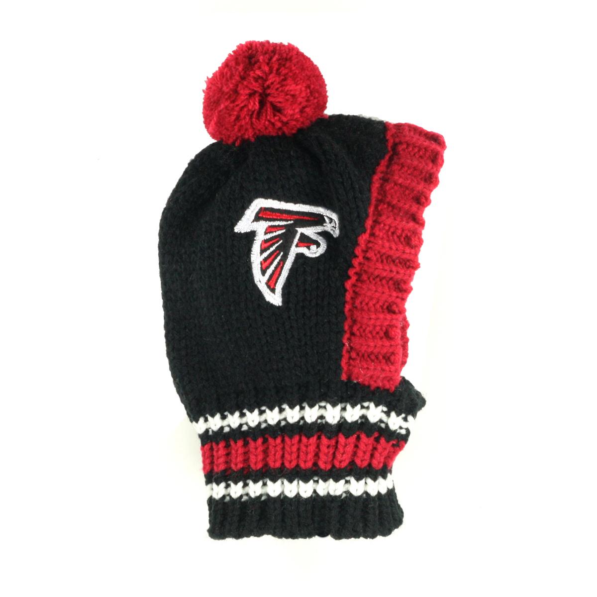 new arrival c8974 f2e0d Atlanta Falcons Knit Dog Hat