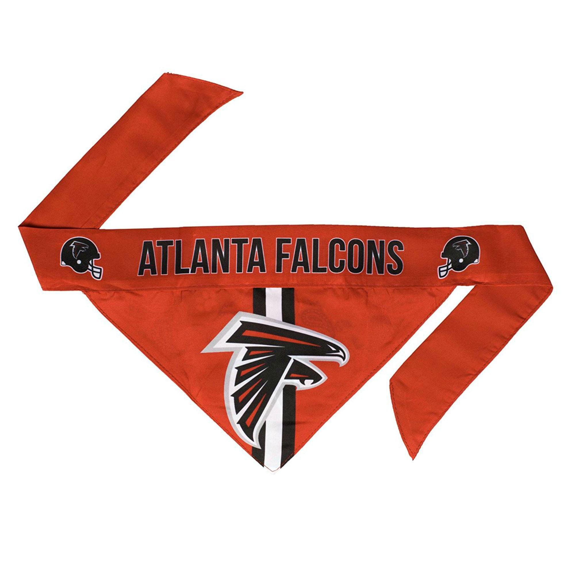 Atlanta Falcons Tie On Dog Bandana