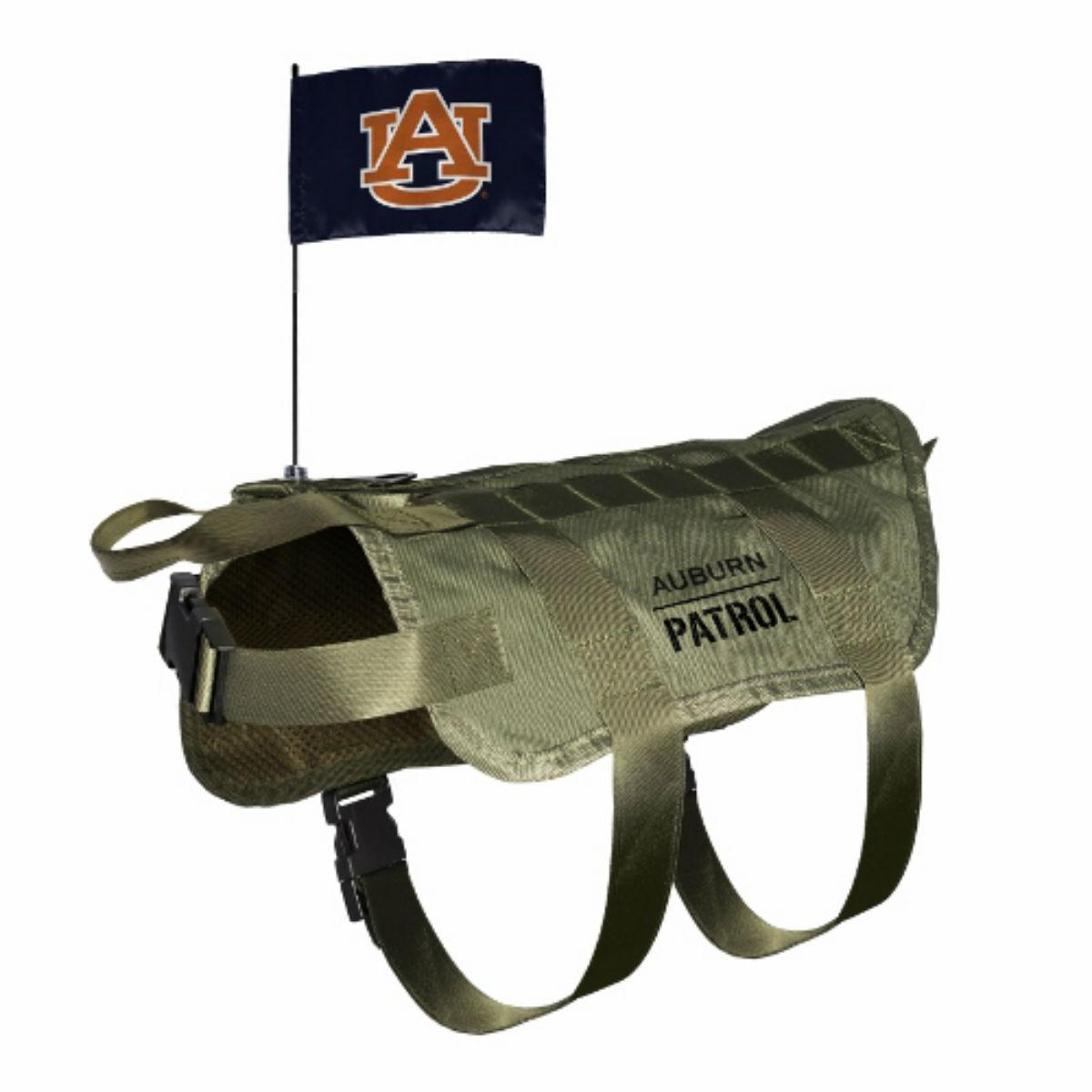 Auburn Tigers Tactical Vest Dog Harness