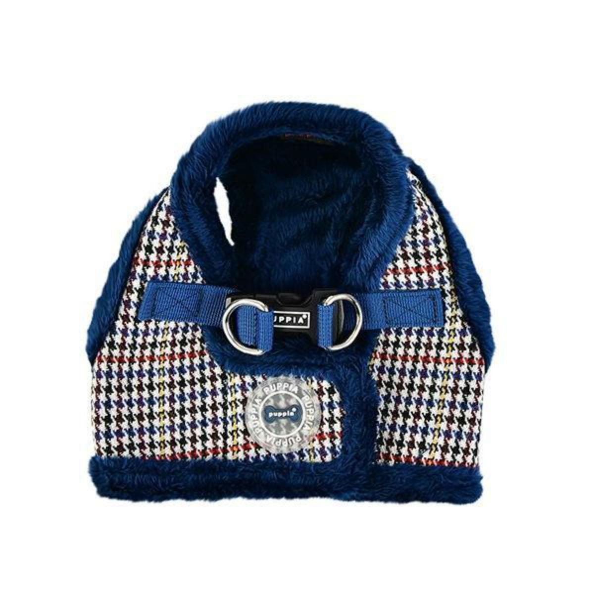 Auden Vest Style Dog Harness by Puppia - Blue