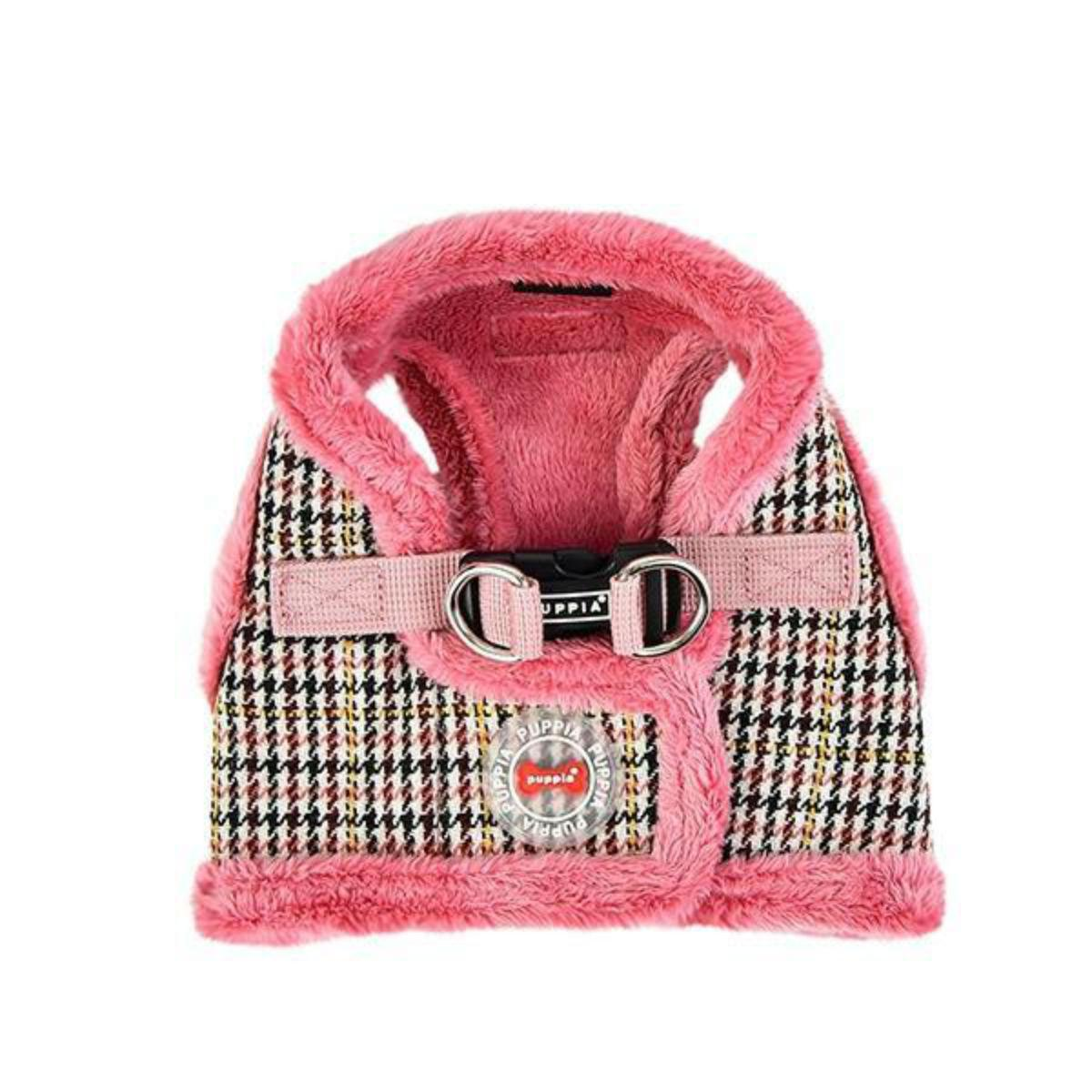 Auden Vest Style Dog Harness by Puppia - Indian Pink