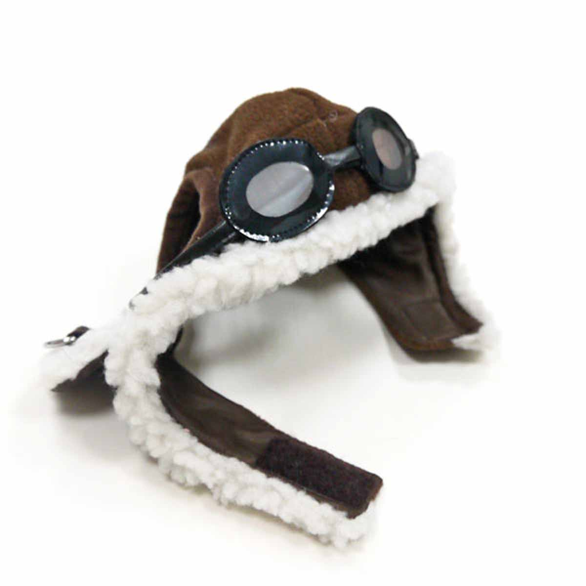 sc 1 st  BaxterBoo & Aviator Dog Hat by Dogo - Brown | BaxterBoo