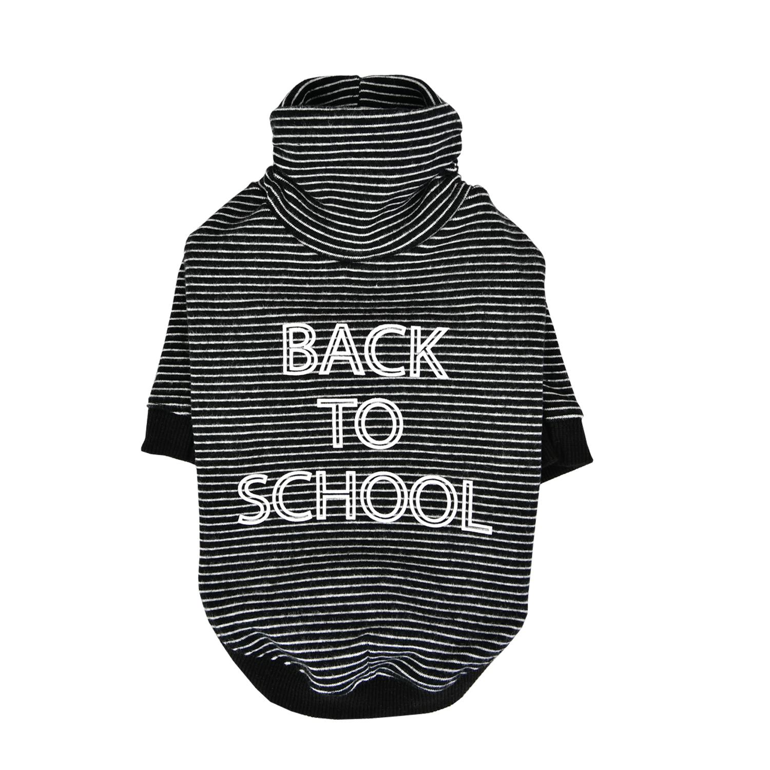 Back To School Dog Shirt by Puppia - Black