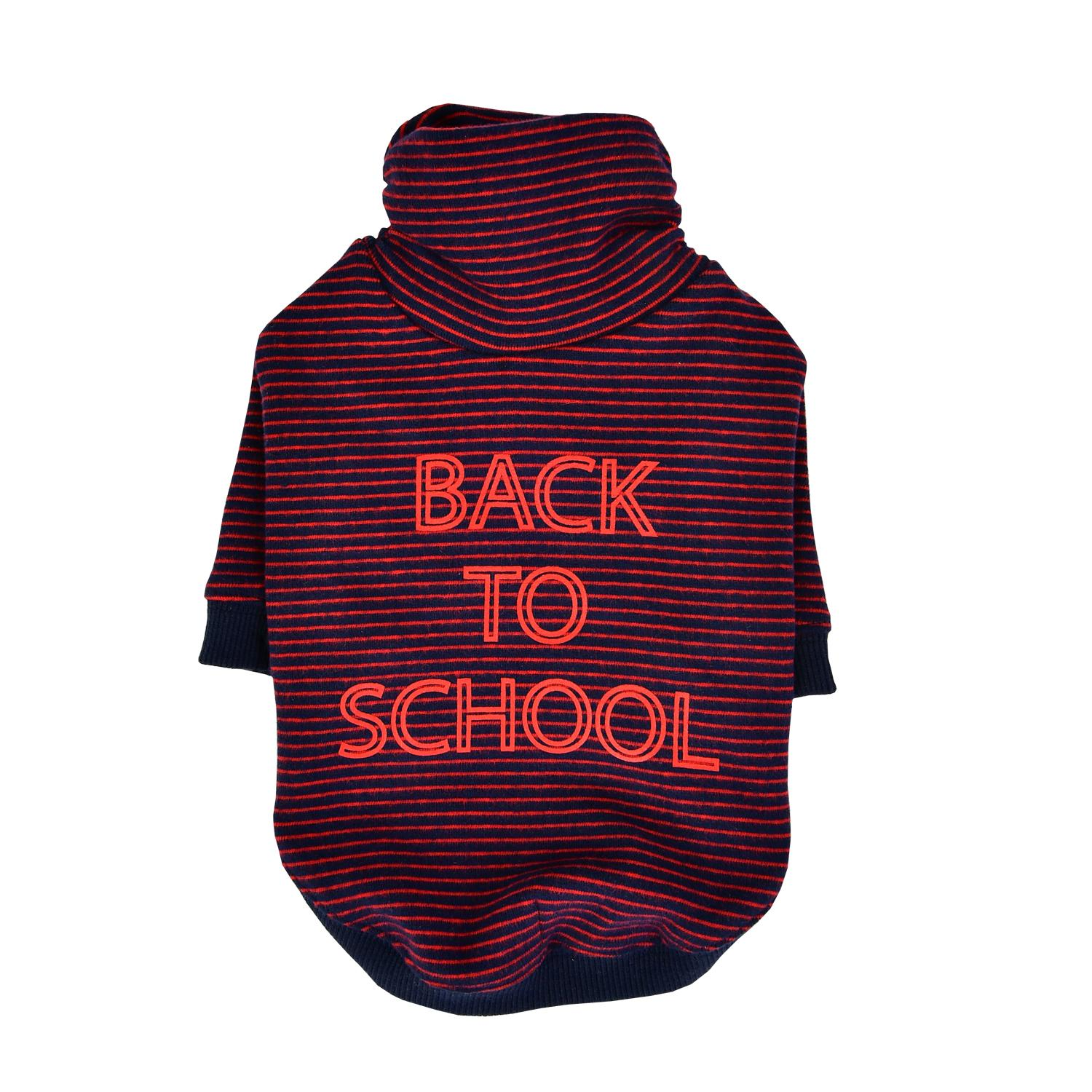 Back To School Dog Shirt by Puppia - Wine