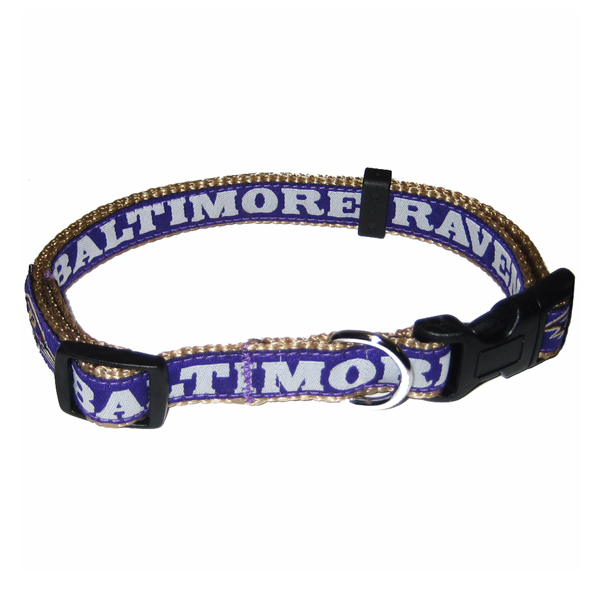 Baltimore Ravens Officially Licensed Dog Collar