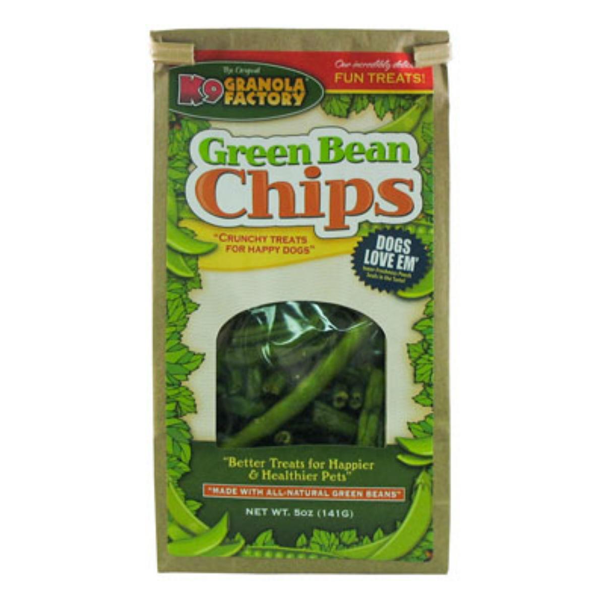 K9 Granola Factory Green Bean Chips Dog Treat by K9 Granola Factory