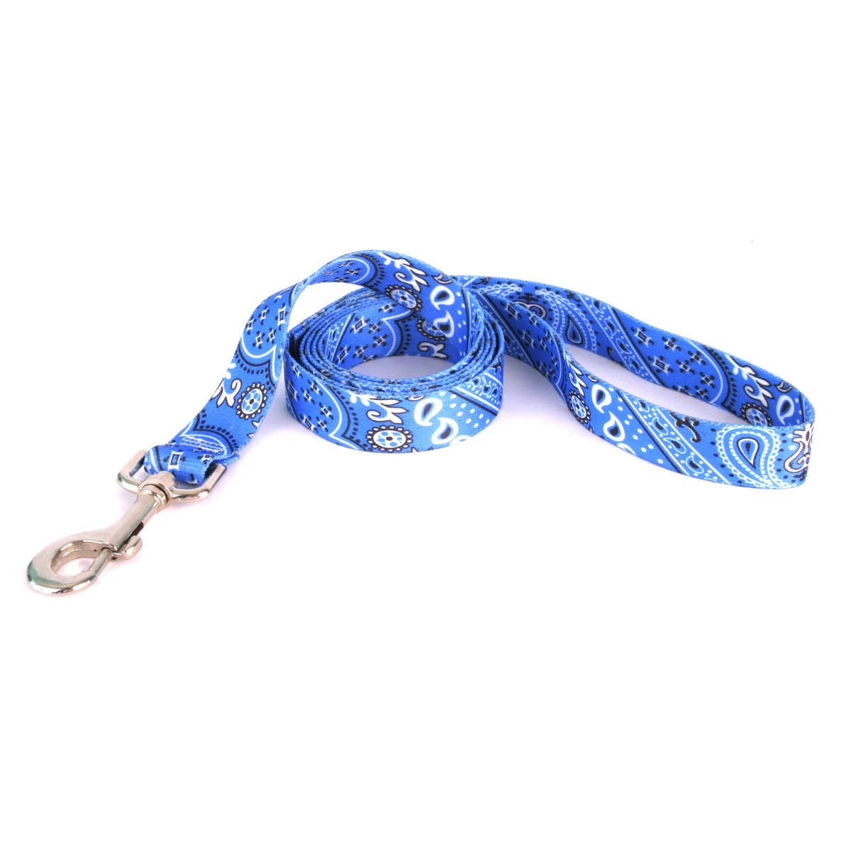 Bandana Dog Leash by Yellow Dog - Blue