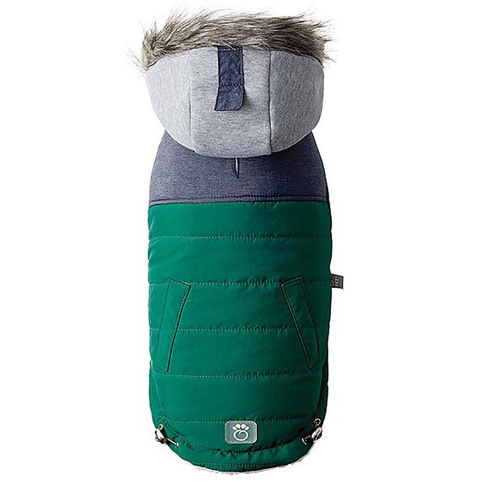 Cabin Elasto-fit Dog Jacket - Dark Green