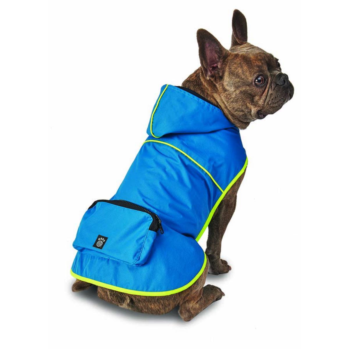 Banff Packable Rain Dog Jacket - Teal