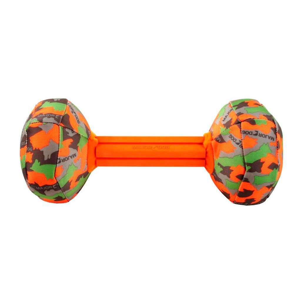 Barbell Dog Toy by Major Dog