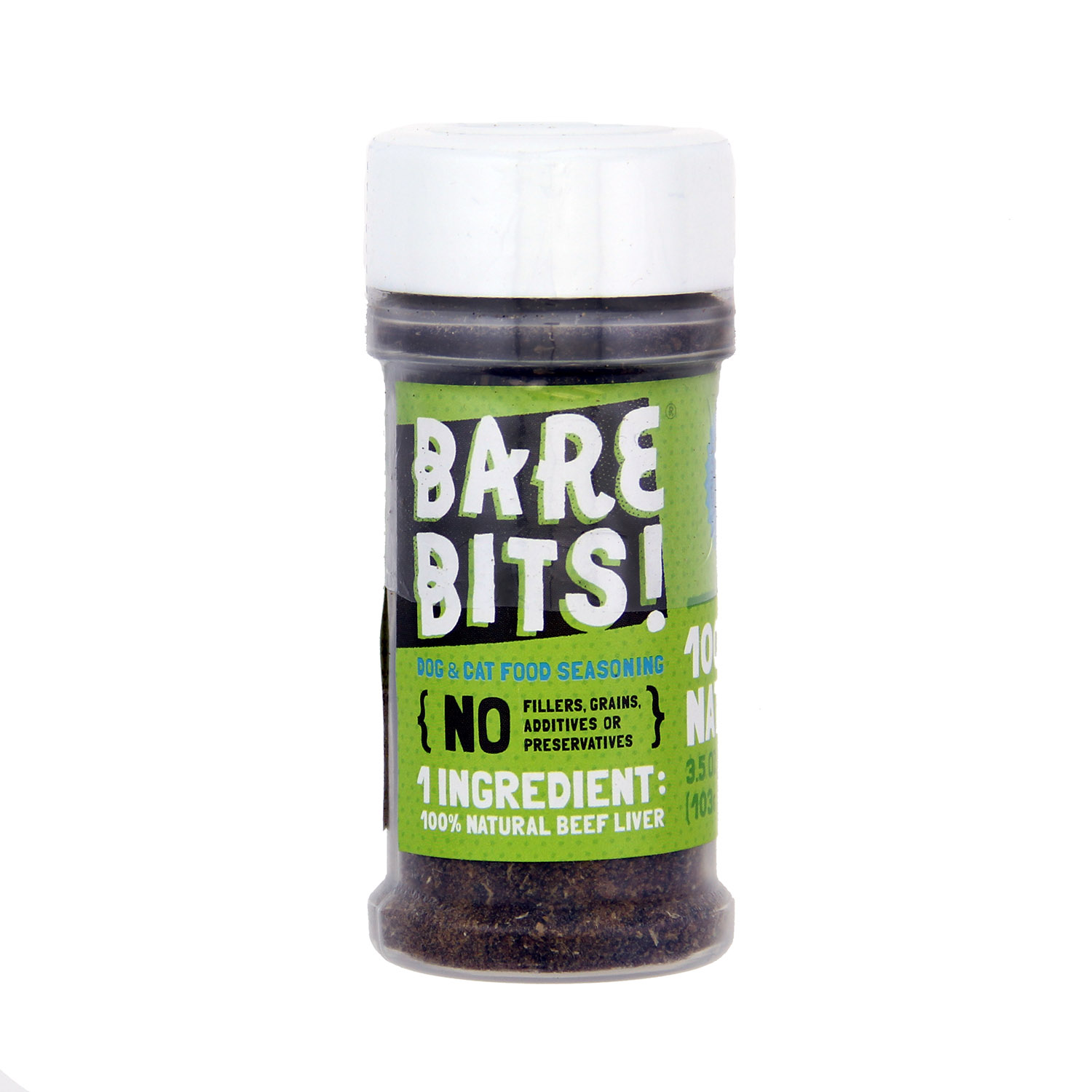 Bare Bits Beef Liver Pet Food Topping