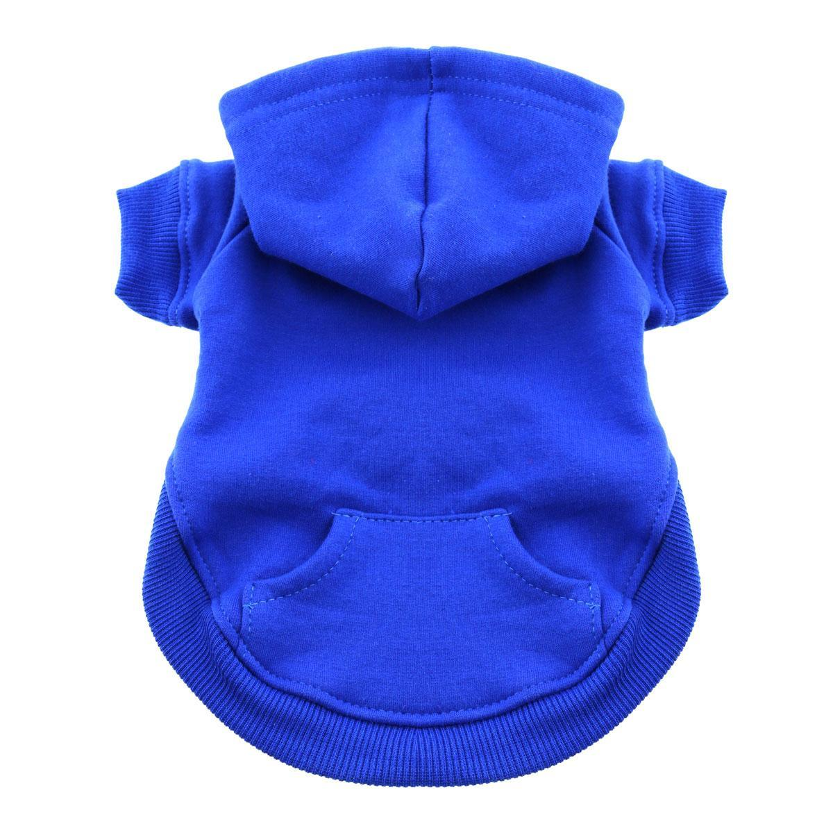 Barking Basics Dog Hoodie - Blue