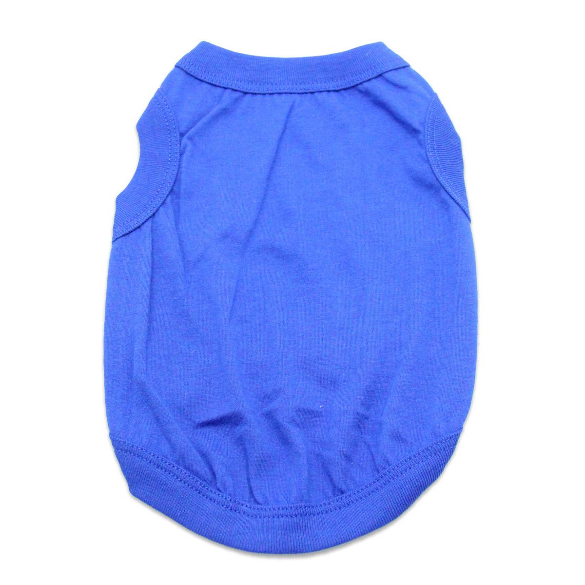 Barking Basics Dog Tank Shirt - Blue