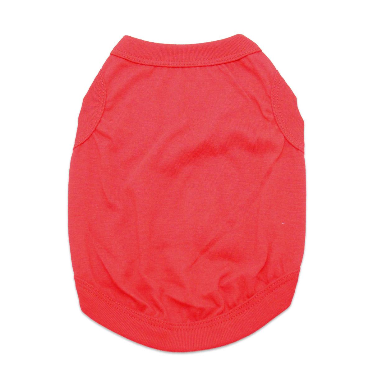 Barking Basics Dog Tank Shirt - Red