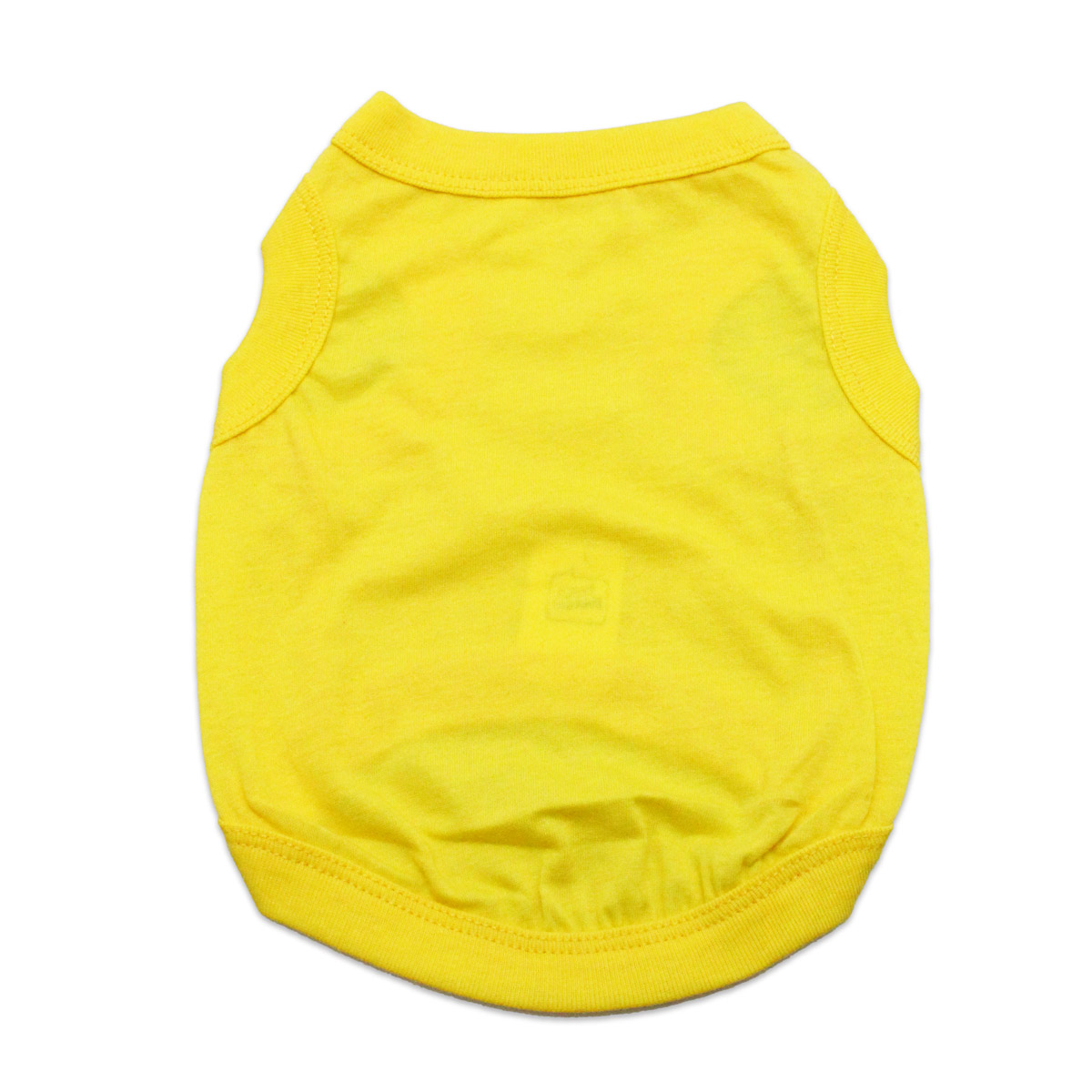 Barking Basics Dog Tank Shirt - Yellow