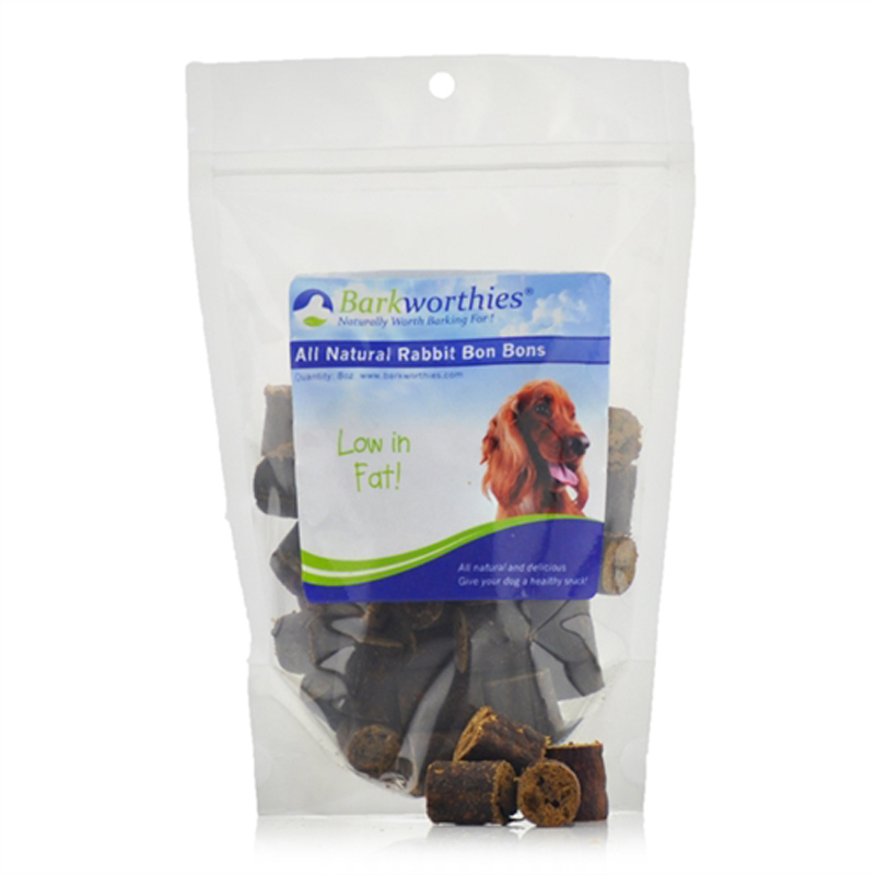 Barkworthies Natural Hare Bon Bons Dog Treat