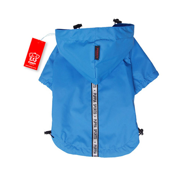 Base Jumper Raincoat Wind Breaker by Puppia - Sky Blue