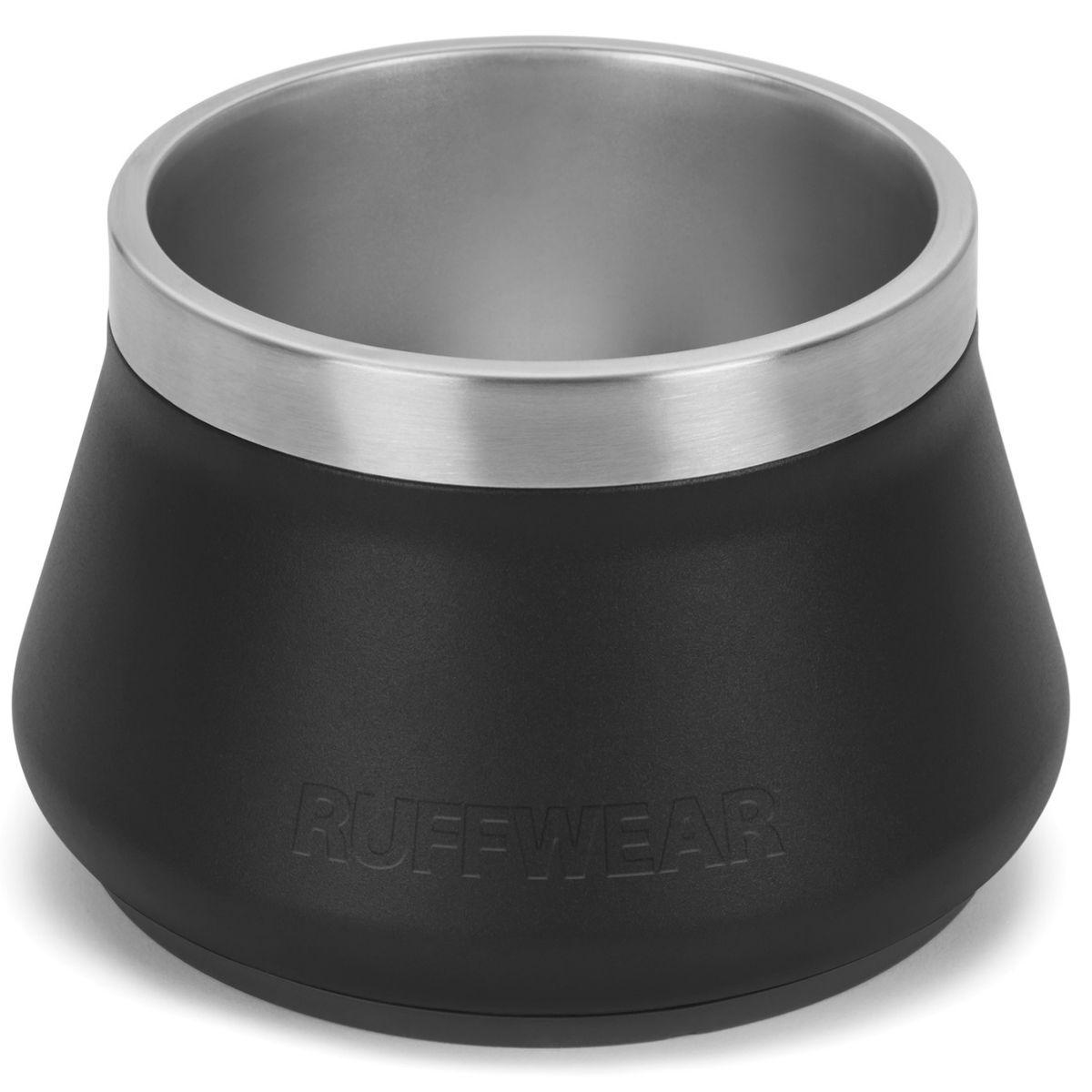 Basecamp Dog Bowl by Ruffwear - Obsidian Black