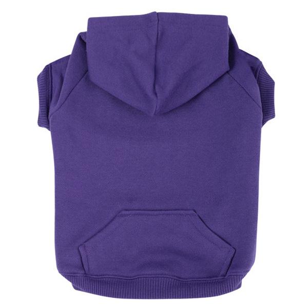 Basic Dog Hoodie - Ultra Violet