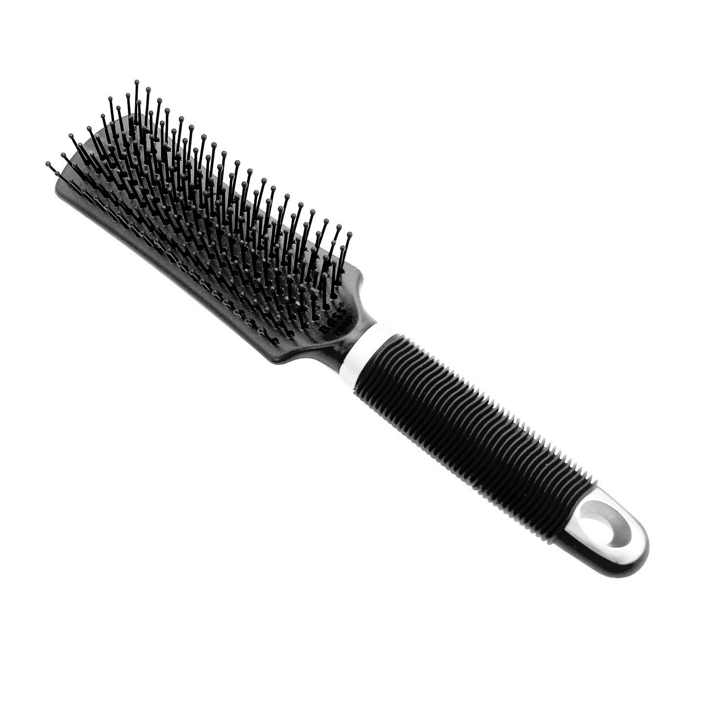 BASS Bathing Dog Brush - Black