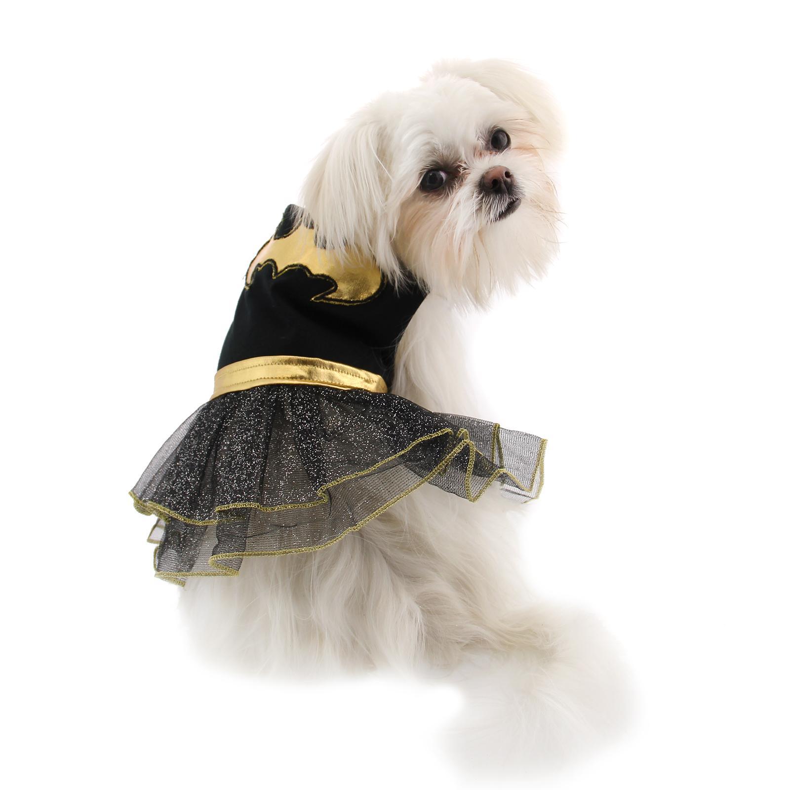 Batgirl Tutu Dog Dress