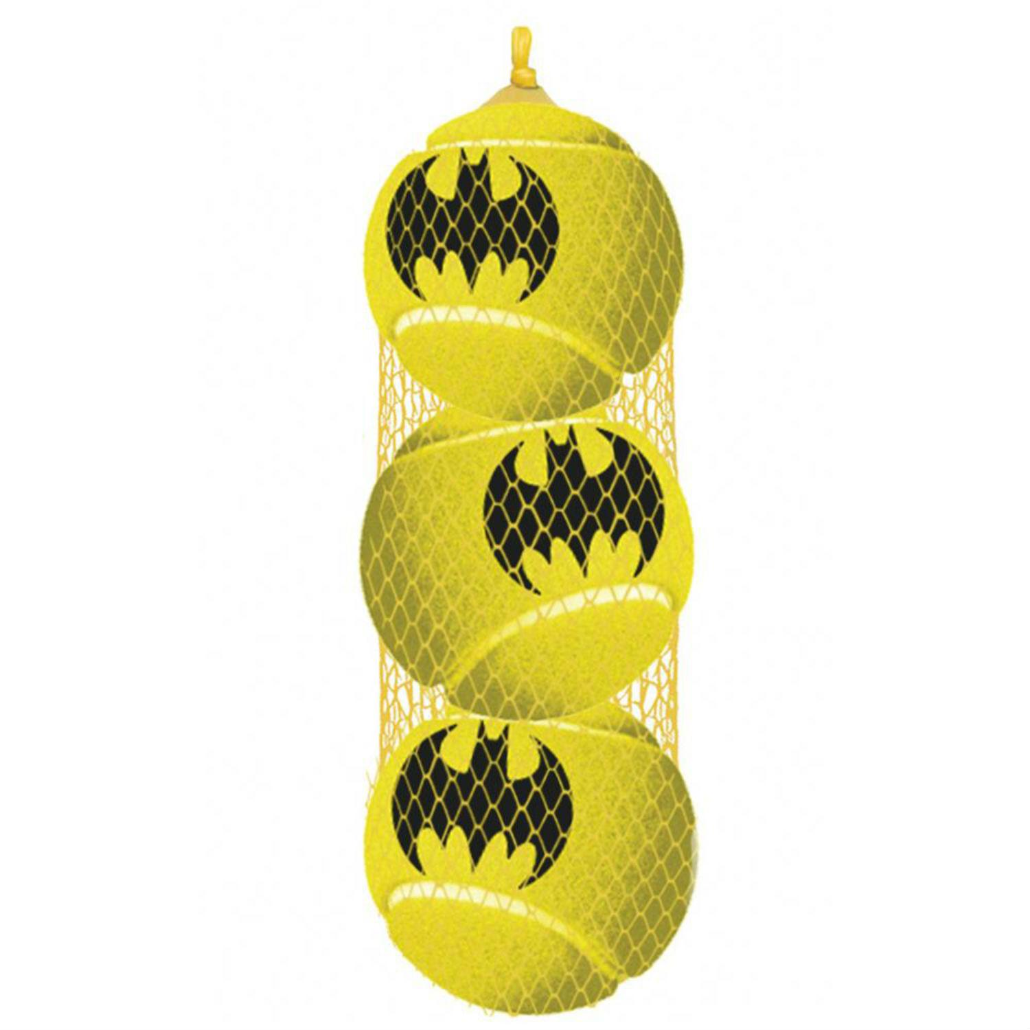 Batman Squeaky Tennis Ball Dog Toy by Buckle-Down