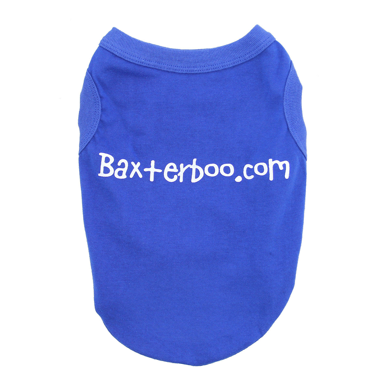 BaxterBoo Dog Shirt - Blue