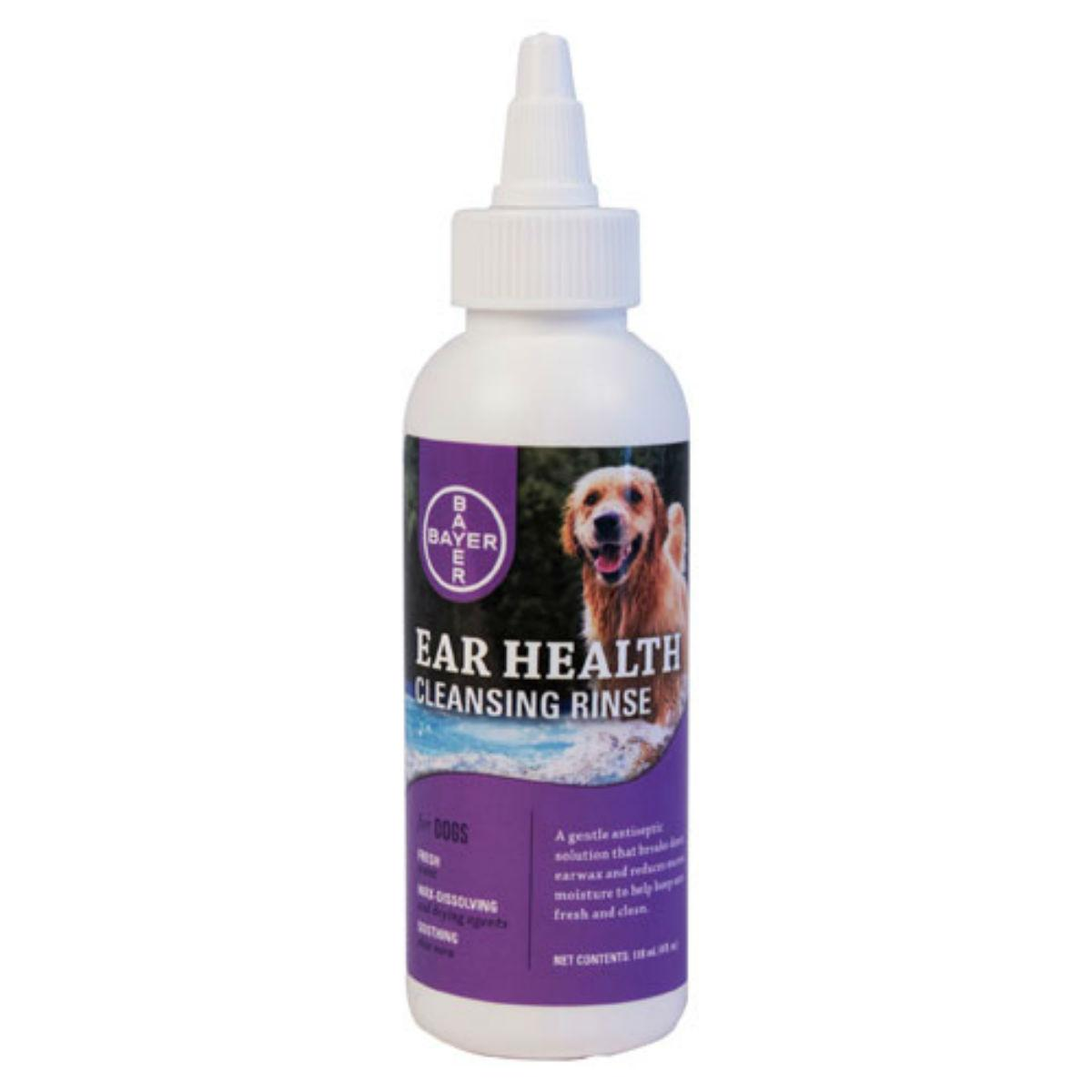 Bayer Dog Ear Health Cleansing Rinse for Dogs