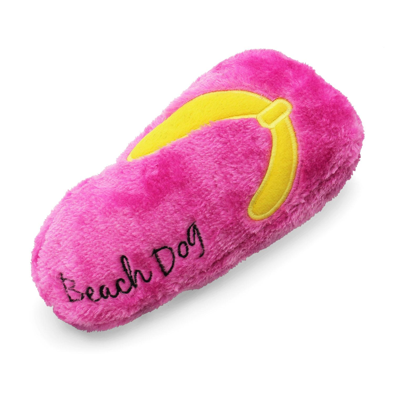 Beach Dog Flip Flop Dog Toy - Pink