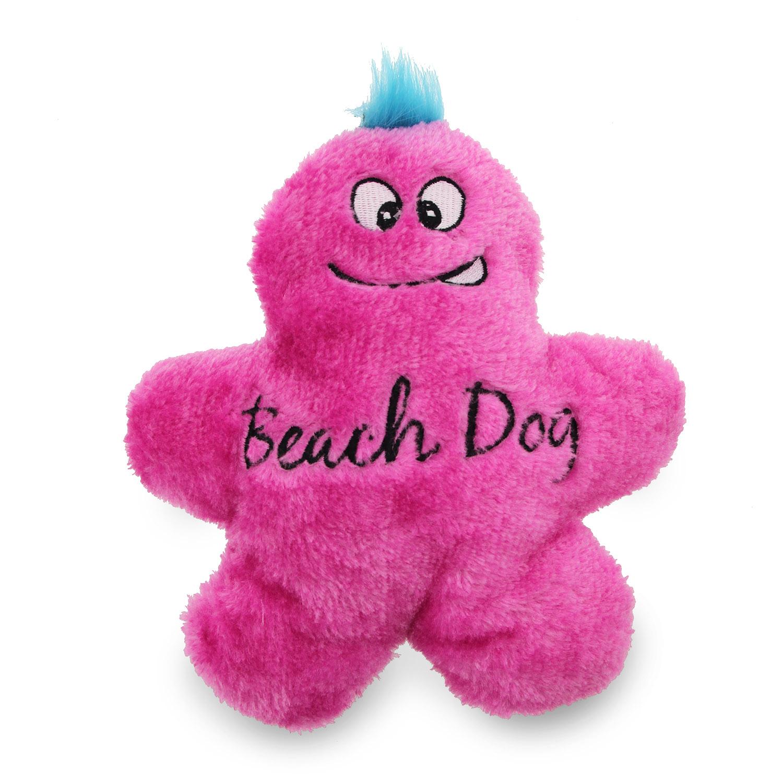 Beach Dog Man Dog Toy - Pink