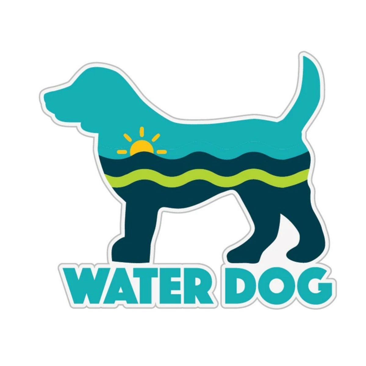 Water Dog Sticker by Dog Speak