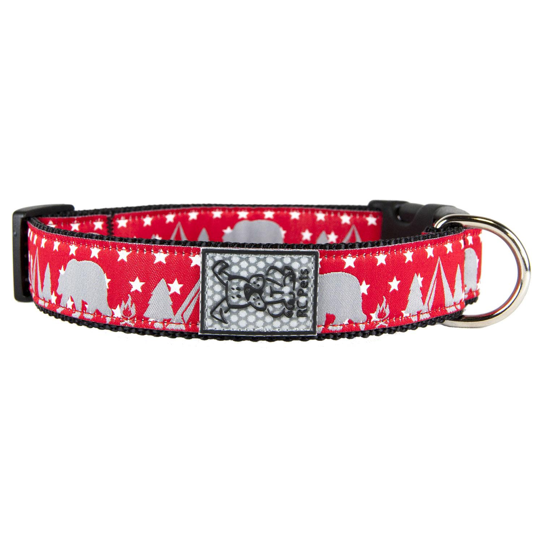 Bear Camp Adjustable Clip Dog Collar By RC Pet