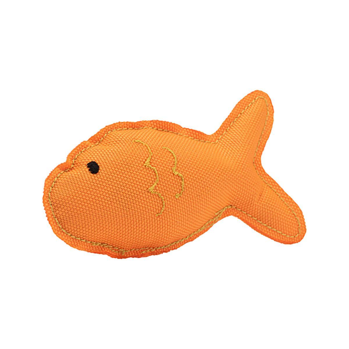 BECO Recycled Plastic Catnip Cat Toy - Fish