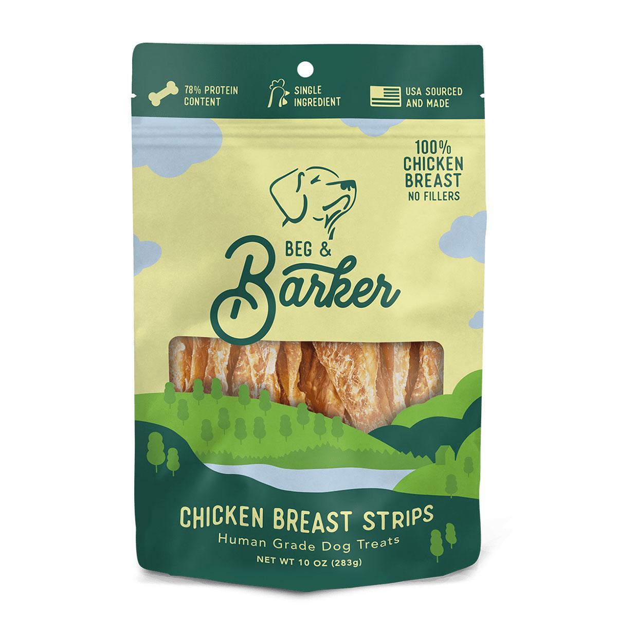 Beg & Barker Chicken Breast Strips Dog Treats
