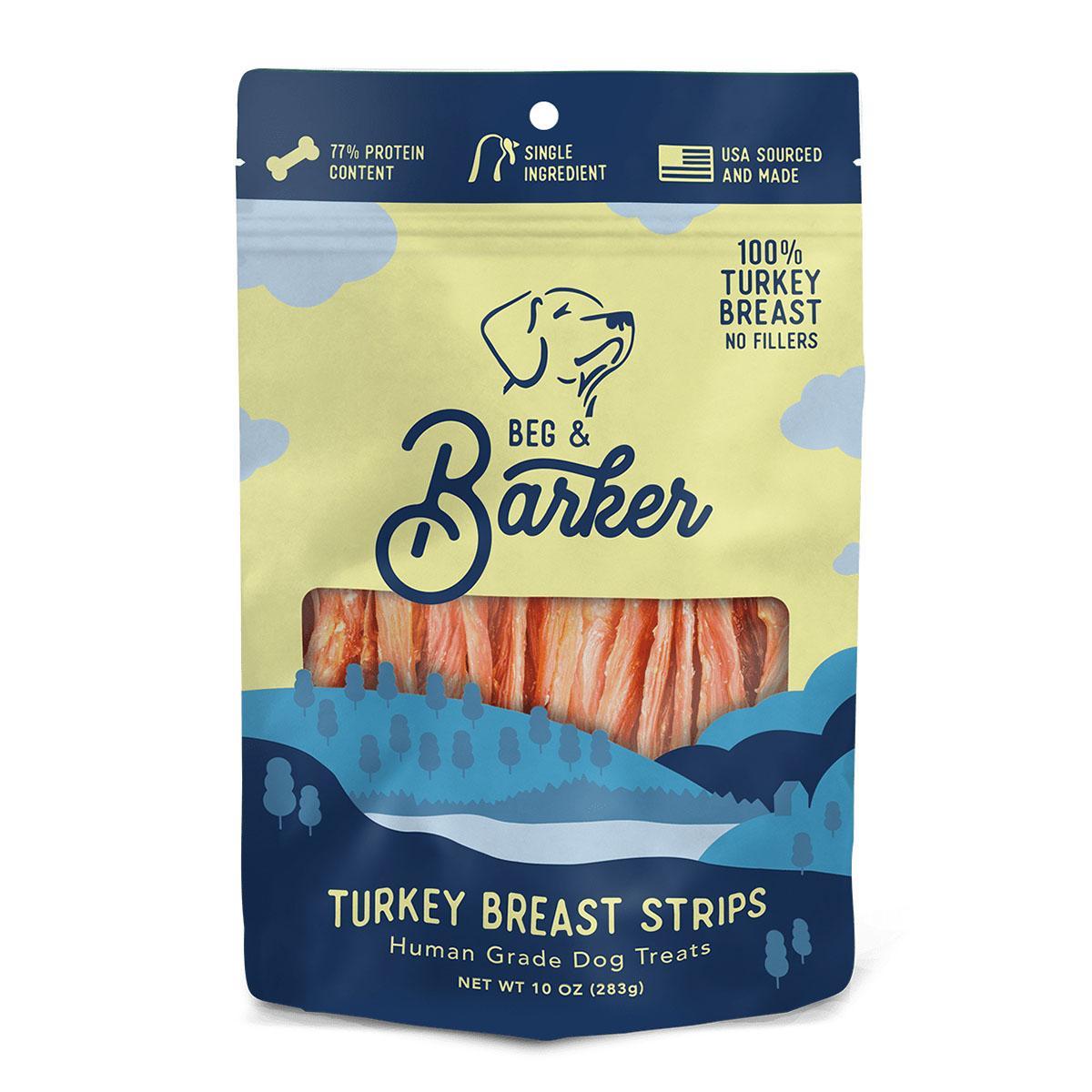 Beg & Barker Turkey Breast Strips Dog Treats