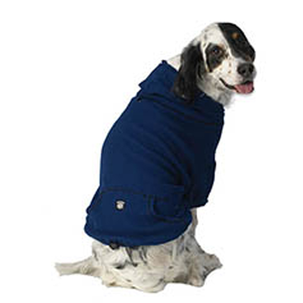 Bentley's Fur Trimmed Hoodie - Royal Blue